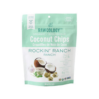 Rawcology Coconut Chips Rockin' Ranch Rawcology