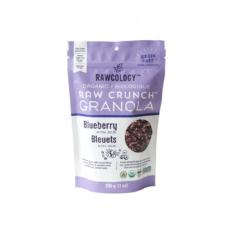 Rawcology Raw Crunch Blueberry Granola
