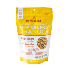 Rawcology Raw Crunch Granola Lemon Ginger