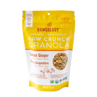 Rawcology Raw Crunch Granola Lemon Ginger
