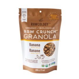 Rawcology Raw Crunch Granola Bananna