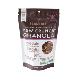 Rawcology Raw Crunch Granola Chocolate