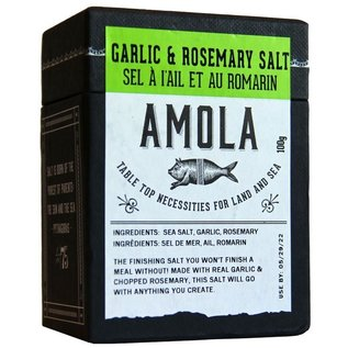 Amola Amola Garlic & Rosemary Salt
