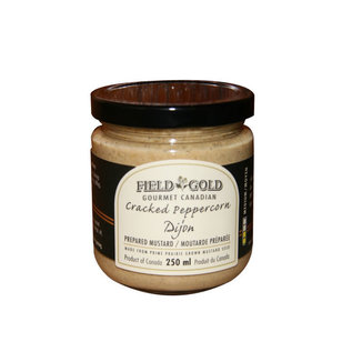 Field Gold Gourmet Canada Cracked Pepper Dijon Mustard