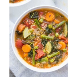 Stock & Broth Rustic Italian Minestrone Soup Stock & Broth
