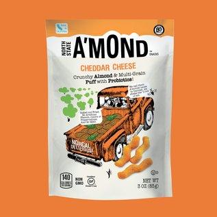 A'MOND Snacks A'Mond Snacks Cheddar