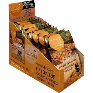 Rawnata Sunflower Sesame Flax Cracker