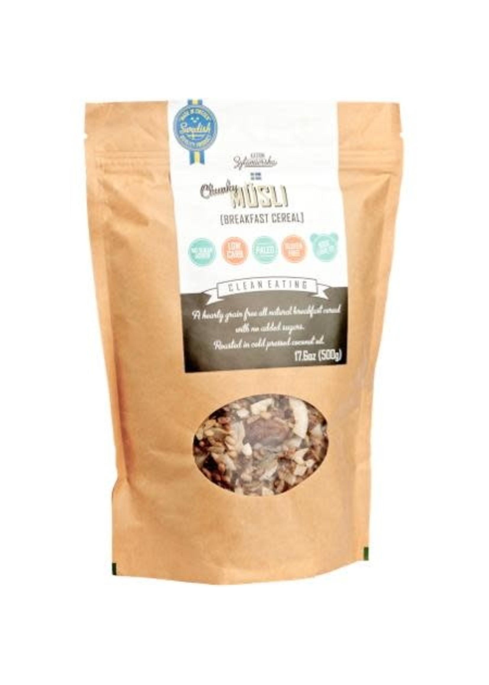 KZ Clean Eating Chunky Musli Chocolate 500g