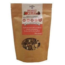 KZ Clean Eating Chocolate & Strawberry Cereal 250G