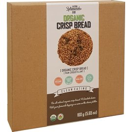 KZ Clean Eating Organic Crisp Bread