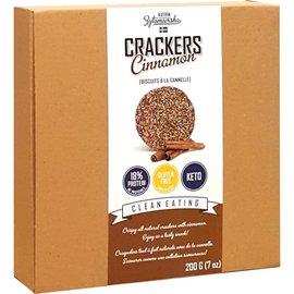 KZ Clean Eating Cinnamon Cracker