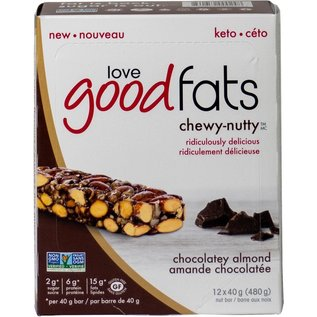 Love Good Fats Good Fats Chewy-nutty Chocolatey Almond