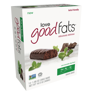 Love Good Fats Good Fats 4Pk Mint Chocolate Chip Bars