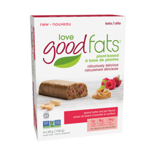 Love Good Fats DC/Good Fats 4Pk Peanut Butter & Jam Bar