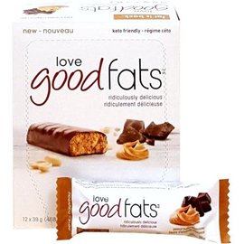 Love Good Fats Good Fats Peanut Butter Chocolatey Bar