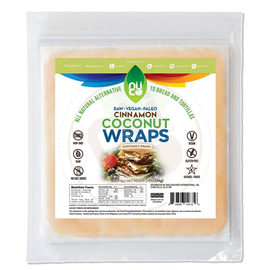 Nuco Coconut Wraps Cinnamon