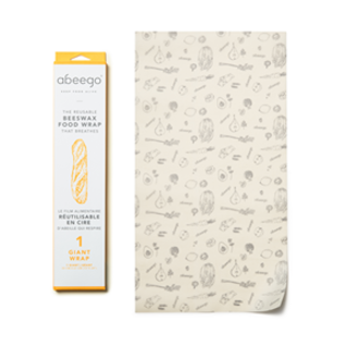 Abeego Beeswax Food Wrap Abeego- Giant Wrap (1)