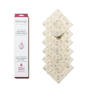 Abeego Beeswax Food Wrap Abeego- Small Wrap (6)