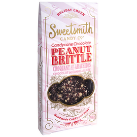 Sweetsmith Candy Co. Sweetsmith Candycane Chocolate Peanut Brittle