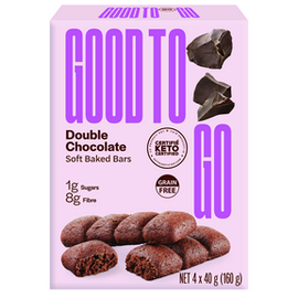 Good To Go Good to Go Soft Baked Double Chocolate Keto Bars