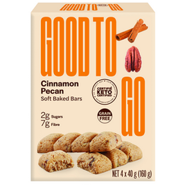 Good To Go Good to Go Soft Baked Cinnamon Pecan Keto Bars