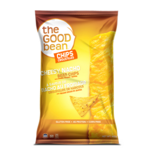 The Good Bean Cheesy Nacho Bean Chips