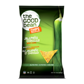 The Good Bean Jalapeno Cheddar Bean Chips
