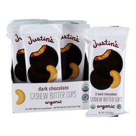Justin's Org. DK Choco Cashew Butter Cups