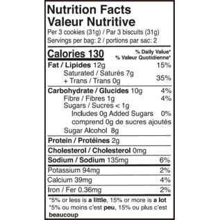 Sweet Nutritions Sweet Nutritions- Snickerdoodle