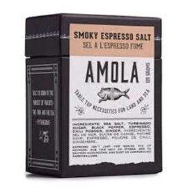 Amola Amola Smoky Espresso Salt