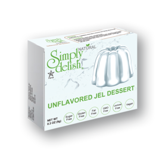 Simply Delish Unflavored Jel Dessert