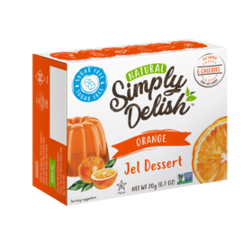Simply Delish Orange Jel Dessert