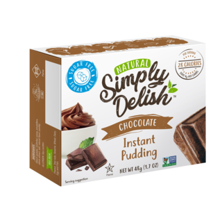 Simply Delish Chocolate Pudding & Pie Filling