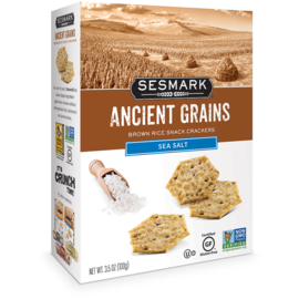 Sesmark Ancient Grains Sea Salt Rice Cracker