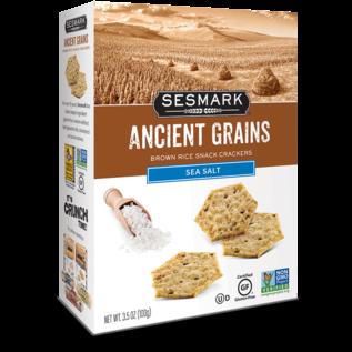 Sesmark Ancient Grains Sea Salt Rice Cracker