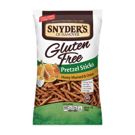 Snyder's of Hanover Pretzel Sticks Honey Mustard Gluten Free