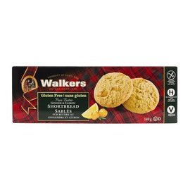 Walkers Ginger & Lemon Shortbread Gluten Free