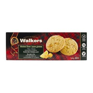 Walkers Ginger & Lemon Shortbread Gluten Free
