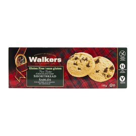 Walkers Chocolate Chip Shortbread Gluten Free