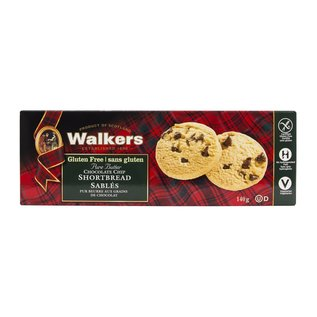 Walkers Chocolate Chip Shortbread Gluten Free