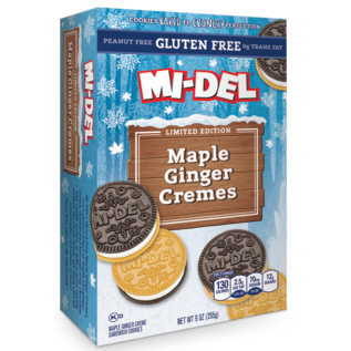 Mi-Del Maple Ginger Cremes Cookies Gluten Free