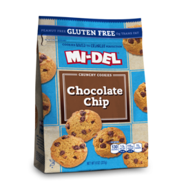 Mi-Del Chocolate Chip Cookies Gluten Free
