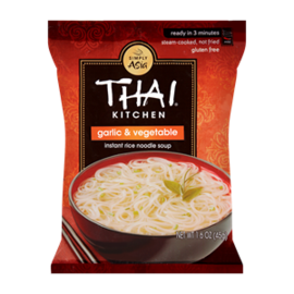 Thai Kitchen Thai Kitchen Instant Rice Soup Garlic & Vegetable