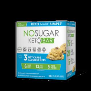 Keto Made Simple NoSugar Keto Bar Choc Chip Cookie Dough