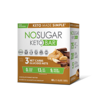 Keto Made Simple NoSugar Keto Bar Chocolate Peanut Butter