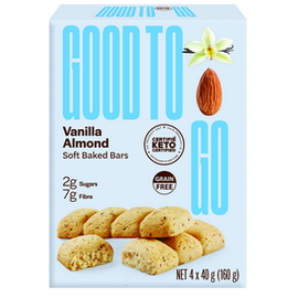 Good To Go Good to Go Vanilla Almond 4pk