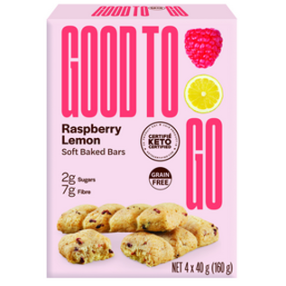 Good to Go Raspberry Lemon 4pk