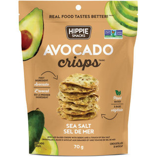 Hippie Snacks Avocado Crisps- Sea Salt