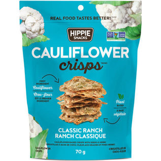 Hippie Snacks Cauliflower Crisps- Ranch