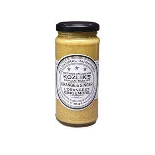 Kozlik's KOZLIK'S MUSTARD - Orange & Ginger